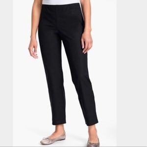 Eileen Fisher Cropped Black Pants Large